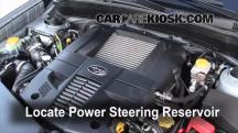 2009 Subaru Forester XT Limited 2.5L 4 Cyl. Turbo Power Steering Fluid