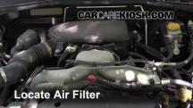 2009 Subaru Outback 2.5i Limited 2.5L 4 Cyl. Air Filter (Engine)