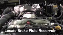 2009 Subaru Outback 2.5i Limited 2.5L 4 Cyl. Brake Fluid