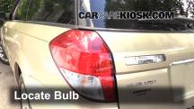 2009 Subaru Outback 2.5i Limited 2.5L 4 Cyl. Luces