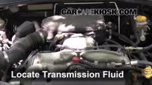 2009 Subaru Outback 2.5i Limited 2.5L 4 Cyl. Transmission Fluid