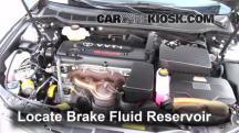 2009 Toyota Camry Hybrid 2.4L 4 Cyl. Brake Fluid