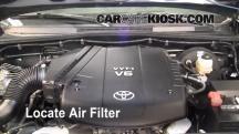 2009 Toyota Tacoma Pre Runner 4.0L V6 Crew Cab Pickup (4 Door) Filtro de aire (motor)