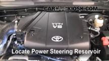 2009 Toyota Tacoma Pre Runner 4.0L V6 Crew Cab Pickup (4 Door) Power Steering Fluid