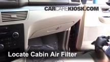 2009 Volkswagen Routan SEL 4.0L V6 Filtro de aire (interior)