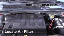 2008 Chrysler Town and Country Touring 3.8L V6 Filtro de aire (motor)