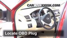 2009 Volkswagen Routan SEL 4.0L V6 Compruebe la luz del motor