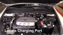 2010 Acura ZDX 3.7L V6 Air Conditioner