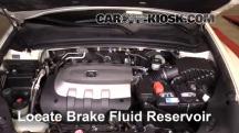 2010 Acura ZDX 3.7L V6 Brake Fluid