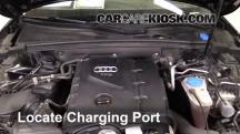 2010 Audi A5 Quattro 2.0L 4 Cyl. Turbo Air Conditioner