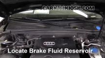 2010 Audi A5 Quattro 2.0L 4 Cyl. Turbo Líquido de frenos