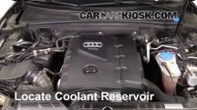 2010 Audi A5 Quattro 2.0L 4 Cyl. Turbo Pérdidas de líquido