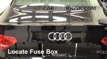 2010 Audi A5 Quattro 2.0L 4 Cyl. Turbo Fusible (motor)