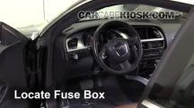 2010 Audi A5 Quattro 2.0L 4 Cyl. Turbo Fusible (interior)