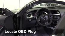 2010 Audi A5 Quattro 2.0L 4 Cyl. Turbo Compruebe la luz del motor