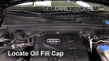 2010 Audi A5 Quattro 2.0L 4 Cyl. Turbo Aceite