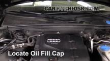 2010 Audi A5 Quattro 2.0L 4 Cyl. Turbo Oil
