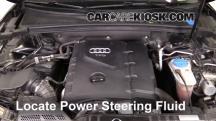 2010 Audi A5 Quattro 2.0L 4 Cyl. Turbo Líquido de dirección asistida