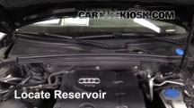 2010 Audi A5 Quattro 2.0L 4 Cyl. Turbo Líquido limpiaparabrisas