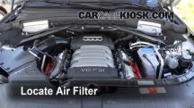2010 Audi Q5 Premium 3.2L V6 Air Filter (Engine)
