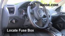 2010 Audi Q5 Premium 3.2L V6 Fusible (interior)