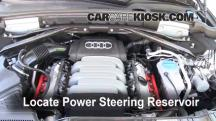 2010 Audi Q5 Premium 3.2L V6 Power Steering Fluid