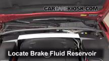 2010 Cadillac CTS 3.0L V6 Sedan Brake Fluid