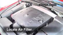2010 Cadillac CTS Premium 3.6L V6 Wagon Filtro de aire (interior)