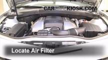 2010 Chevrolet Camaro SS 6.2L V8 Air Filter (Engine)