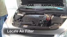 2010 Chevrolet Malibu LT 2.4L 4 Cyl. Air Filter (Engine)
