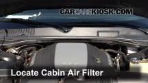 2010 Dodge Challenger RT 5.7L V8 Filtro de aire (interior)