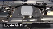 2010 Dodge Challenger RT 5.7L V8 Filtro de aire (motor)
