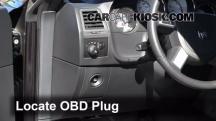 2010 Dodge Challenger RT 5.7L V8 Compruebe la luz del motor