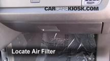 2010 Dodge Journey SXT 3.5L V6 Air Filter (Cabin)