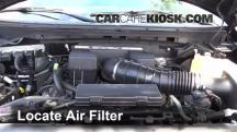 2010 Ford F-150 SVT Raptor 6.2L V8 Air Filter (Engine)