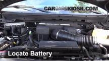 2010 Ford F-150 SVT Raptor 6.2L V8 Battery