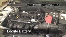 2010 Ford Fusion SE 2.5L 4 Cyl. Battery