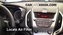 2010 GMC Terrain SLT 3.0L V6 Filtro de aire (interior)