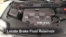 2010 GMC Terrain SLT 3.0L V6 Brake Fluid