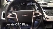 2010 GMC Terrain SLT 3.0L V6 Compruebe la luz del motor