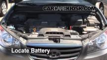 2010 Hyundai Elantra GLS 2.0L 4 Cyl. Battery