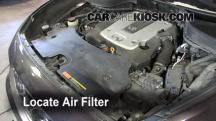 2010 Infiniti FX35 3.5L V6 Filtro de aire (motor)