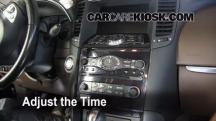 2010 Infiniti FX35 3.5L V6 Clock