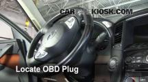 2010 Infiniti FX35 3.5L V6 Compruebe la luz del motor