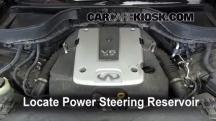2010 Infiniti FX35 3.5L V6 Líquido de dirección asistida