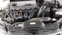 2010 Kia Forte EX 2.0L 4 Cyl. Sedan (4 Door) Líquido de frenos