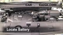 2010 Kia Sedona LX 3.8L V6 Battery
