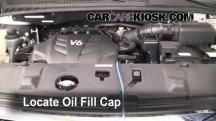 2010 Kia Sedona LX 3.8L V6 Aceite