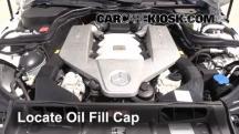 2010 Mercedes-Benz C63 AMG 6.3L V8 Aceite