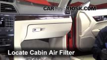 2010 Mercedes-Benz E350 3.5L V6 Coupe (2 Door) Air Filter (Cabin)